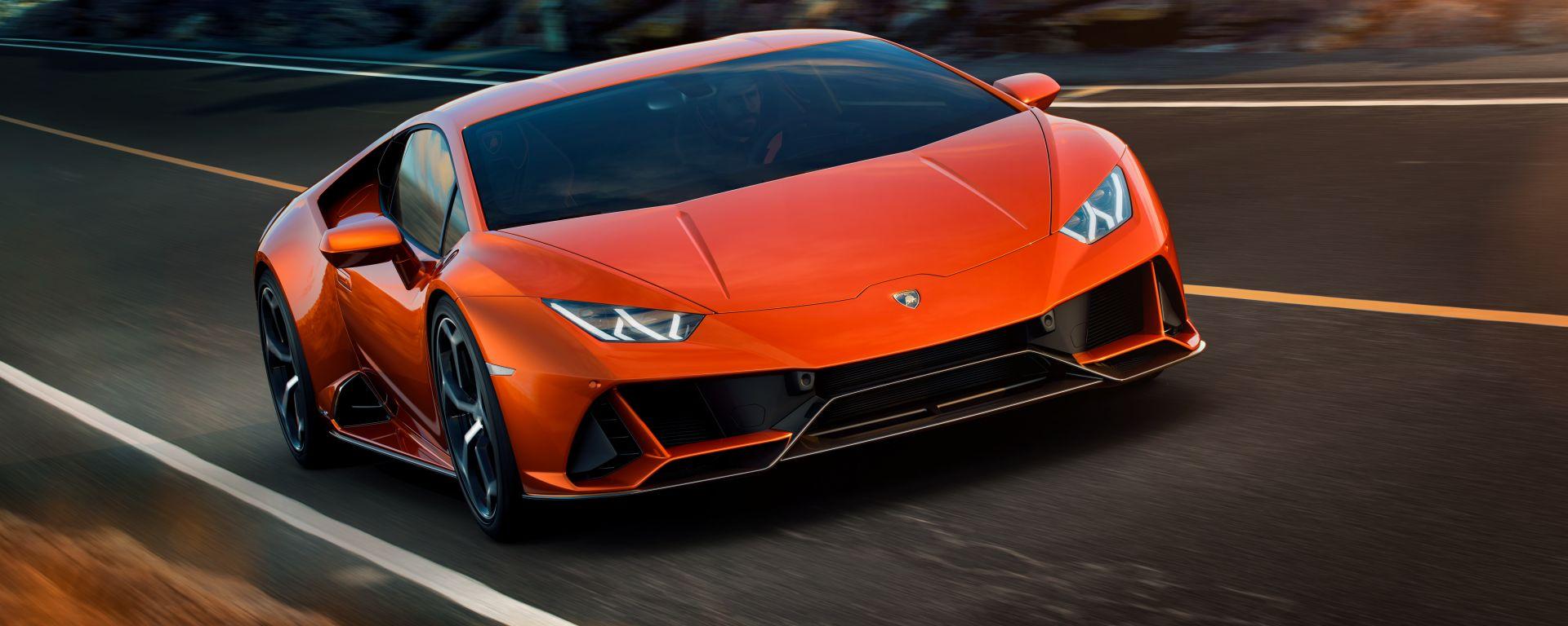 Lamborghini Huracan EVO: potente come la Performante