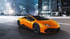 Lamborghini Huracan EVO Fluo Capsule è la nuova gamma di colori e finiture per il MY2021