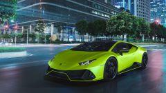 Lamborghini Huracan EVO Fluo Capsule, uno dei nuovi colori per il 2021