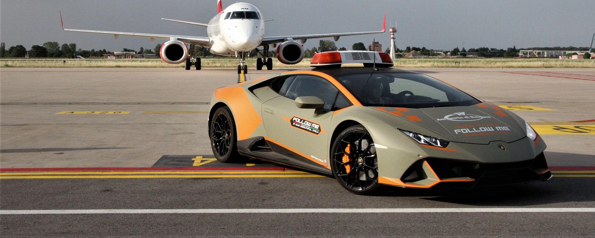 """Bologna Airport, è allerta Huracàn. Alla faccia della """"Follow Me Car"""""""