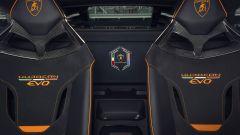 Lamborghini Huracán EVO GT Celebration, i sedili visti nel dettaglio