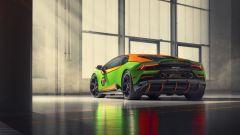 Lamborghini Huracán EVO GT Celebration, il retro