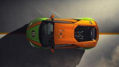 Lamborghini Huracán EVO GT Celebration, vista dall'alto