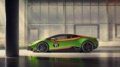 Lamborghini Huracán EVO GT Celebration, vista di lato