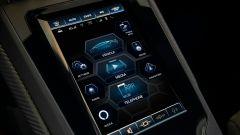 Lamborghini Huracan Evo: l'interfaccia dell'infotainment aggiornato sarà molto intuitiva
