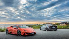 Lamborghini Huracan Evo: più smart con Android Auto e Amazon Alexa