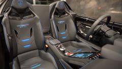 Lamborghini Huracan Evo RWD Aperta: interni, l'abitacolo e i sedili