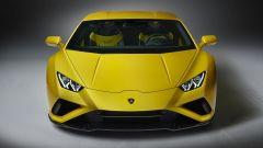 Lamborghini Huracan EVO RWD: visuale anteriore