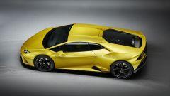 Lamborghini Huracan EVO RWD: visuale dall'alto