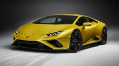 Lamborghini Huracan EVO RWD: visuale di 3/4 anteriore