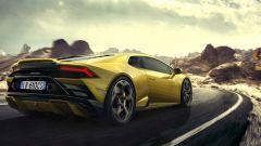 Lamborghini Huracan EVO RWD: visuale di 3/4 posteriore