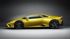 Lamborghini Huracan EVO RWD: visuale laterale