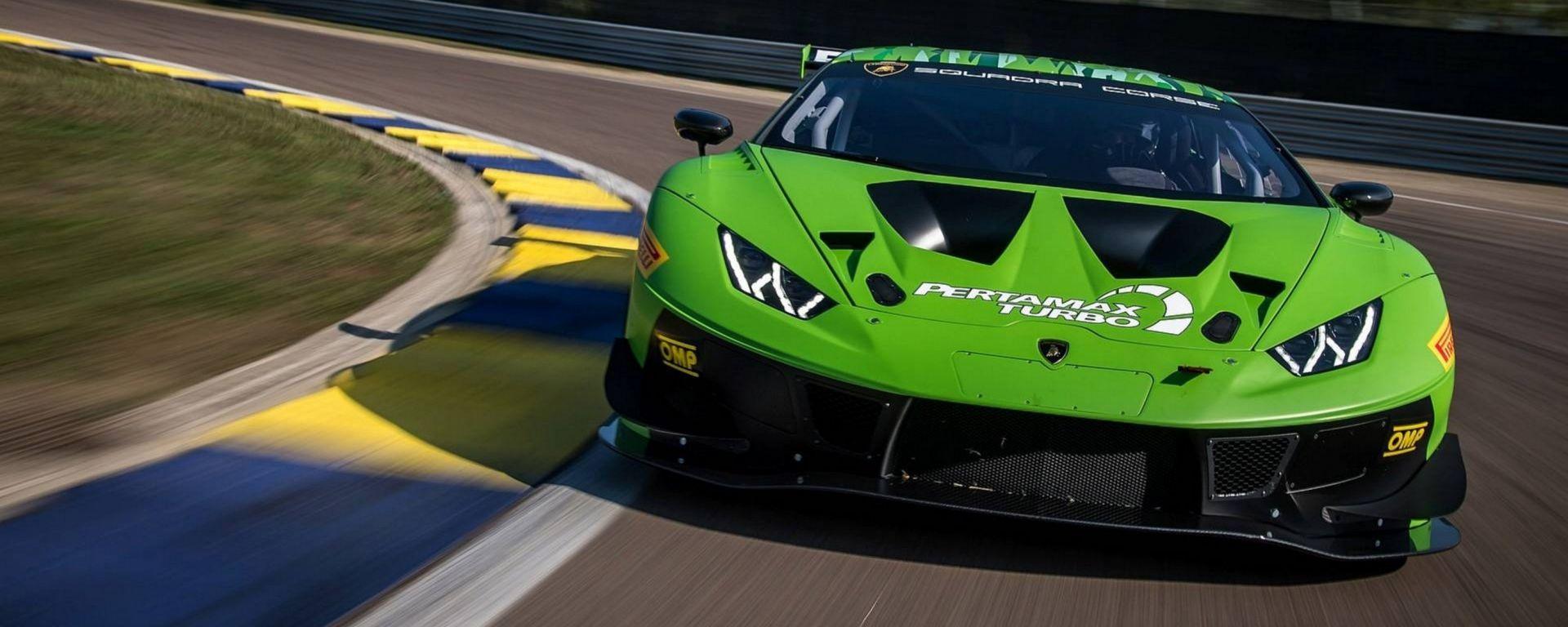 Lamborghini Huracan GT3 Evo: pronta per Daytona