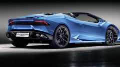 Lamborghini Huracan LP 610-4 Spyder: foto LIVE e info - Immagine: 12