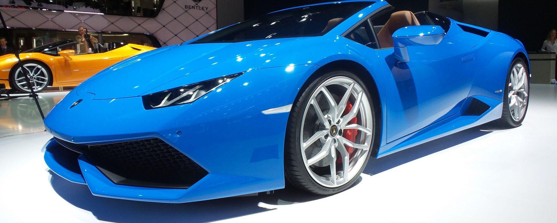 Lamborghini Huracan LP 610-4 Spyder: foto LIVE e info