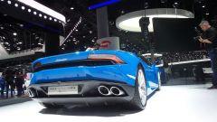 Lamborghini Huracan LP 610-4 Spyder: foto LIVE e info - Immagine: 3