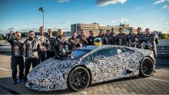 Lamborghini Huracan Performante: video del record al Nurburgring - Immagine: 1