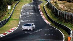 Lamborghini Huracan Performante impegnata a conquistare il record al Nurburgring