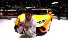 Lamborghini Huracan Performante: in video dal Salone di Ginevra 2017 - Immagine: 1