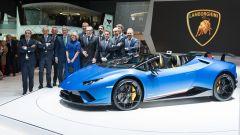 Lamborghini Huracàn Performante Spyder: in video dal Salone di Ginevra 2018 - Immagine: 1