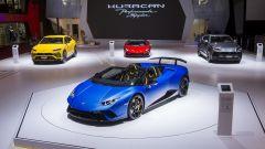 Lamborghini Huracàn Performante Spyder: in video dal Salone di Ginevra 2018 - Immagine: 7