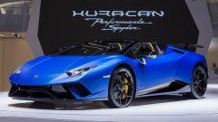 Lamborghini Huracàn Performante Spyder: in video dal Salone di Ginevra 2018 - Immagine: 8