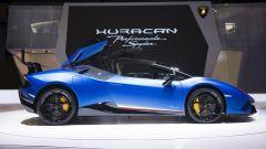 Lamborghini Huracàn Performante Spyder: in video dal Salone di Ginevra 2018 - Immagine: 10