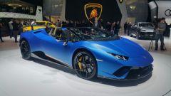 Lamborghini Huracàn Performante Spyder, vista 3/4 anteriore