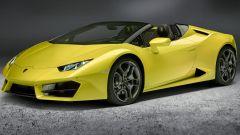 Lamborghini Huracan Spyder: grandi prese d'aria frontali