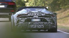 Lamborghini Huracàn Spyder: le prime foto spia del facelift - Immagine: 5