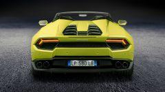 Lamborghini Huracan Spyder: motore V10 aspirato da 580 cv