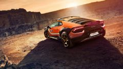 Lamborghini Huracan Sterrato concept è l'erede della Jarama Rally e della Urraco Rally