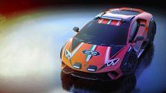 Lamborghini Huracan Sterrato concept: vista dall'alto