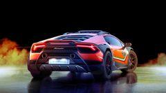 Lamborghini Huracan Sterrato concept: vista del posteriore