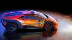 Lamborghini Huracan Sterrato concept: vista laterale