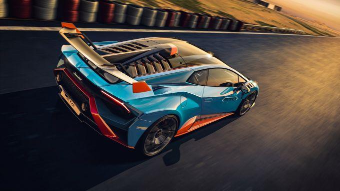 Lamborghini Huracan STO: eccola in azione