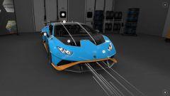 Lamborghini Huracan STO: screenshot dal modello 3D