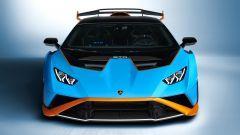 Lamborghini Huracan STO: visuale anteriore