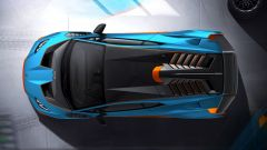 Lamborghini Huracan STO: visuale dall'alto