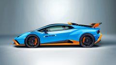 Lamborghini Huracan STO: visuale laterale