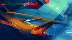 Lamborghini Huracán Super Trofeo EVO2, bozzetto delle luci anteriori