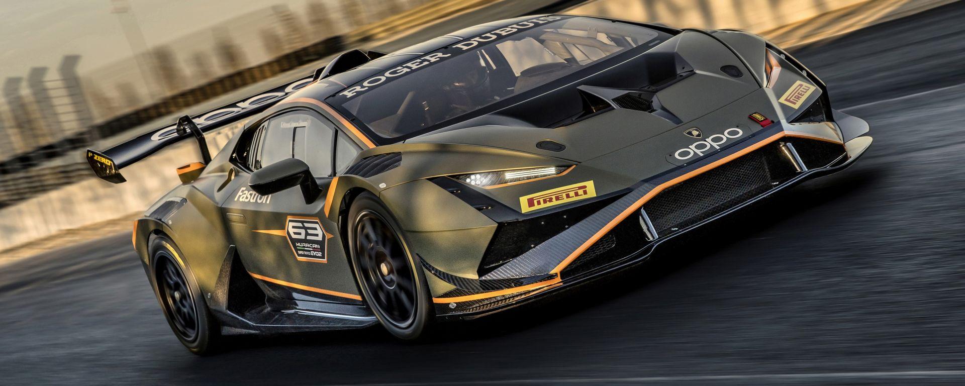 Lamborghini Huracán Super Trofeo EVO2 debutterà nel campionato monomarca 2022