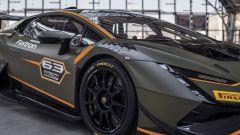 Lamborghini Huracán Super Trofeo EVO2, dettaglio della fiancata