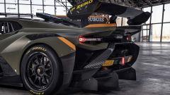 Lamborghini Huracán Super Trofeo EVO2, dettaglio dell'estrattore