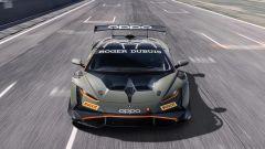 Lamborghini Huracán Super Trofeo EVO2, il frontale è tutto nuovo