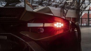 Lamborghini Huracán Super Trofeo EVO2, le luci posteriori