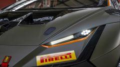 Lamborghini Huracán Super Trofeo EVO2, le nuove luci full LED