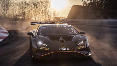 Lamborghini Huracán Super Trofeo EVO2 nel suo elemento naturale
