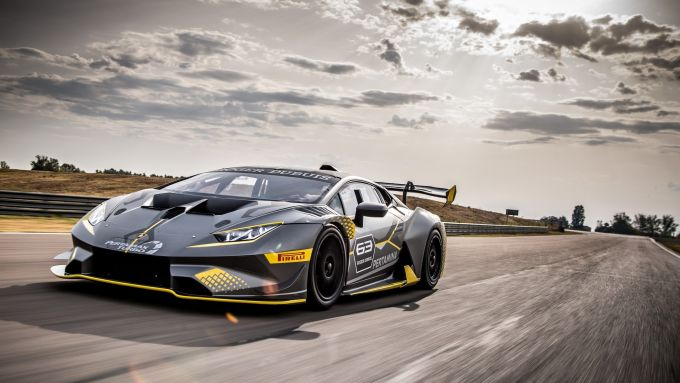 Lamborghini Huracan Supertrofeo Evo