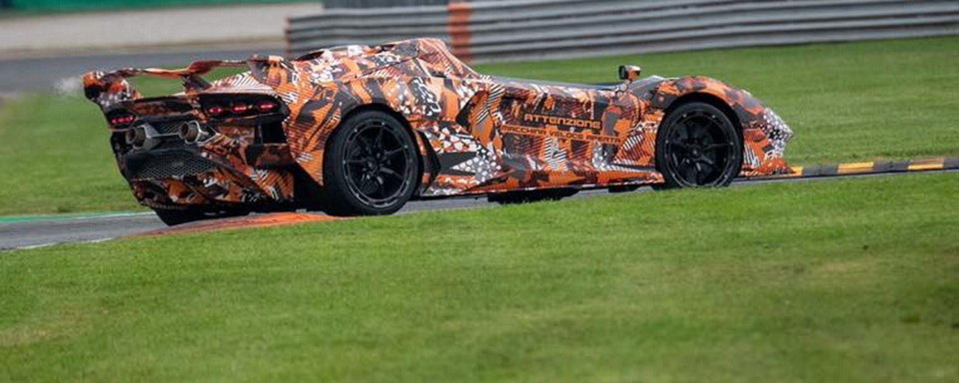 Lamborghini: in arrivo rivale di McLaren Elva e Ferrari Monza?